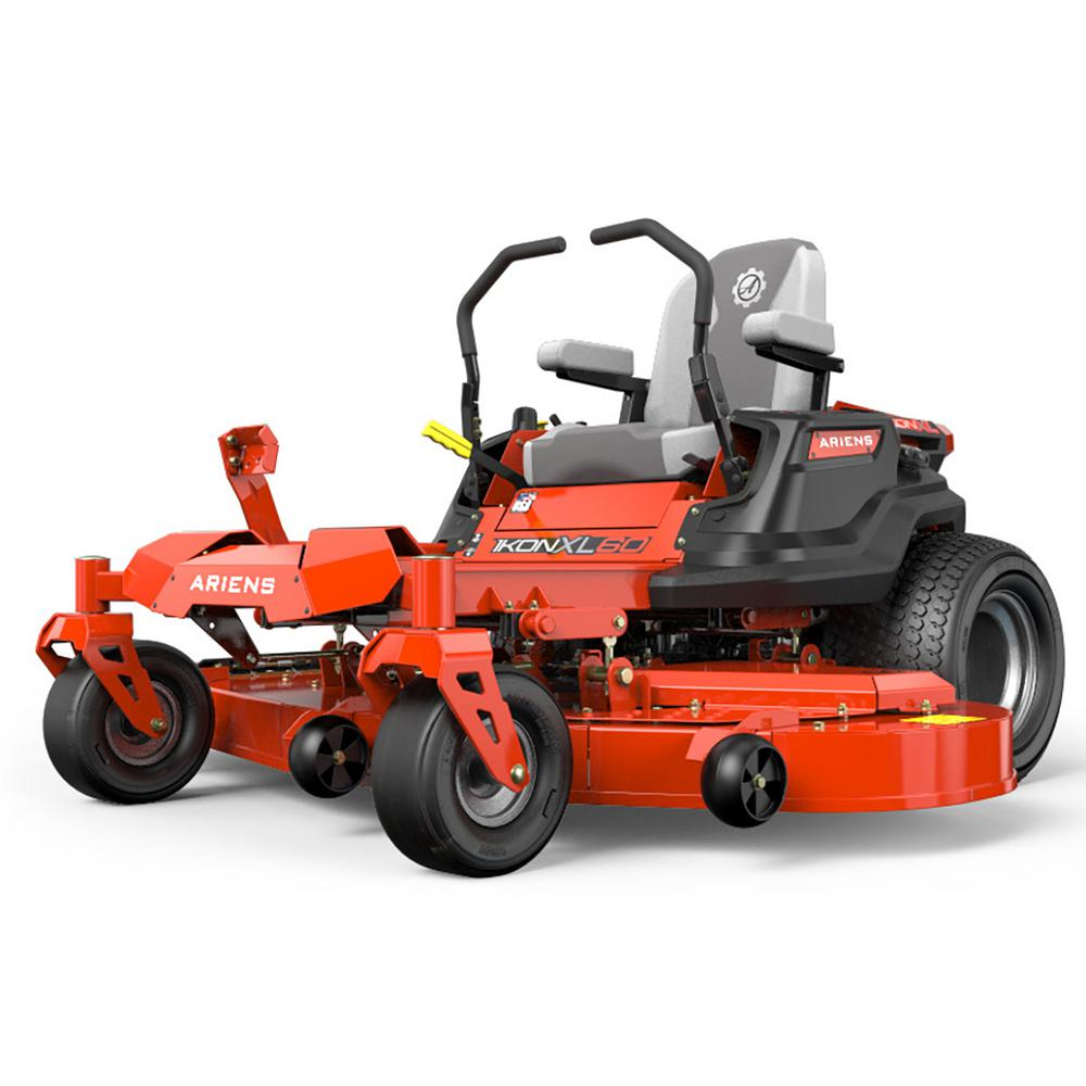 Ariens IKON XL 60 in  25 HP KOHLER 7000 Series Twin Gas Hydrostatic  Zero-Turn Riding Mower