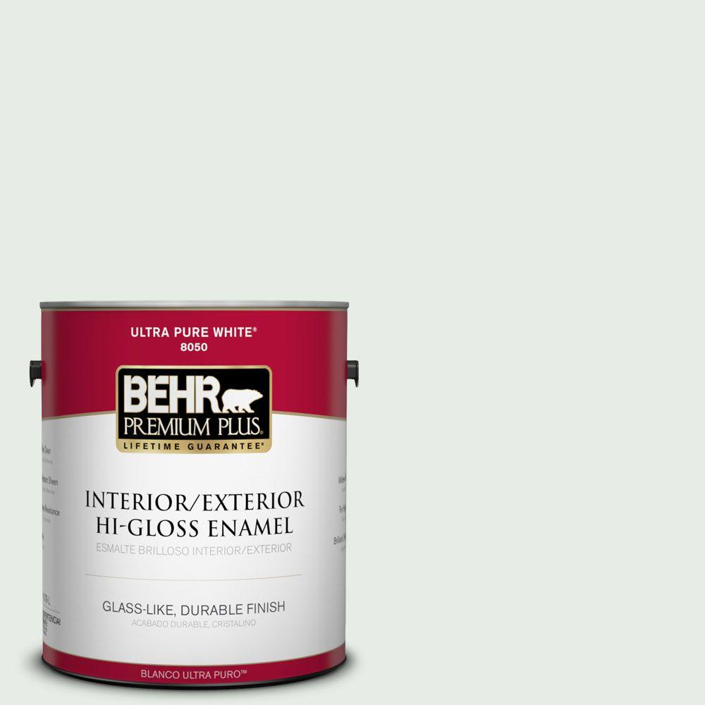 1-gal. #BWC-19 Queen Anne's Lace Hi-Gloss Enamel Interior/Exterior Paint
