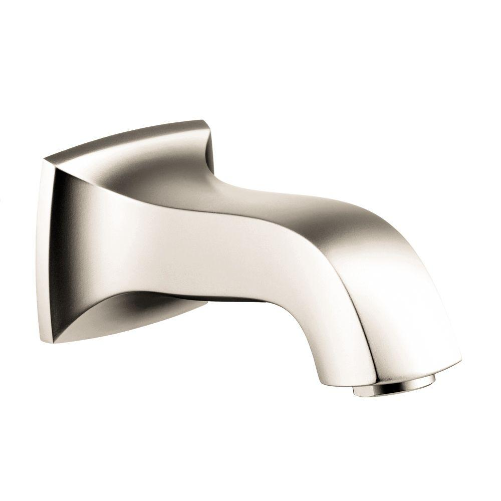 Metris C Tub Spout in Polished Nickel (Valve not included)