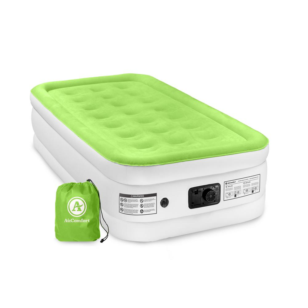 Air Comfort Dream Easy Twin Size Raised Air Mattress