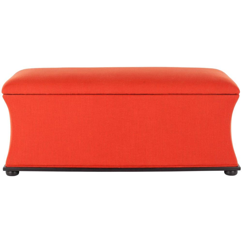 Safavieh Aroura Storage Bench - DISCONTINUED