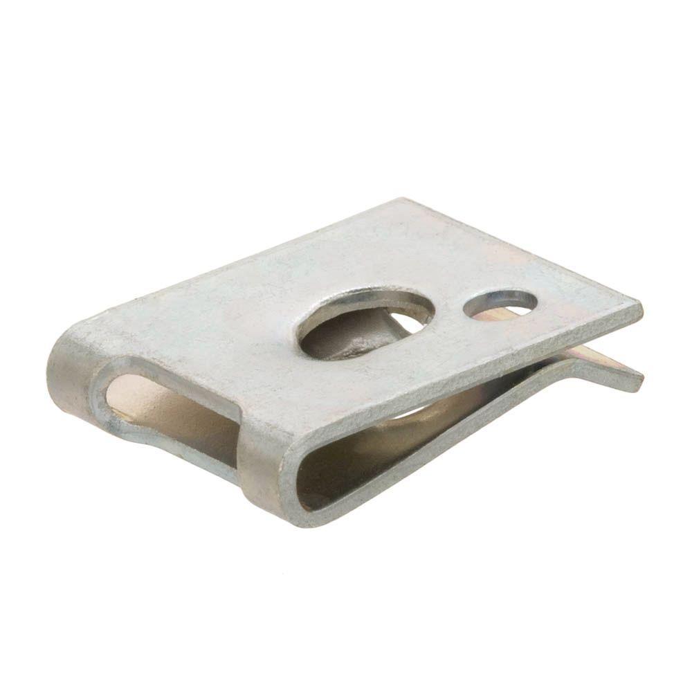 #10 Plain Steel Speed Nut (2-Piece per Pack)