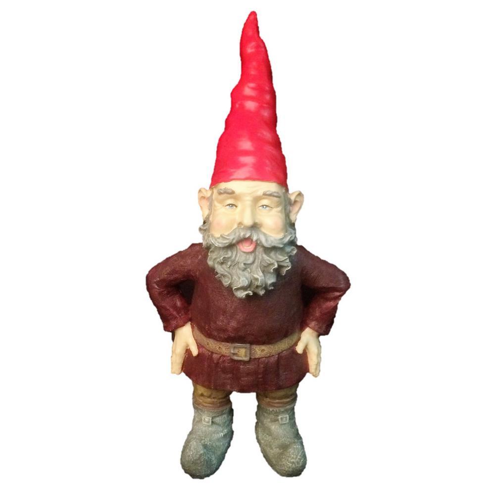 """20 in. H """"Merlin"""" the Garden Gnome Figurine Statue"""