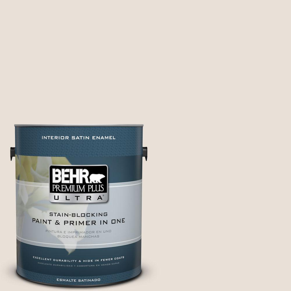 730c 1 White Clay Satin Enamel Interior Paint And Primer In One