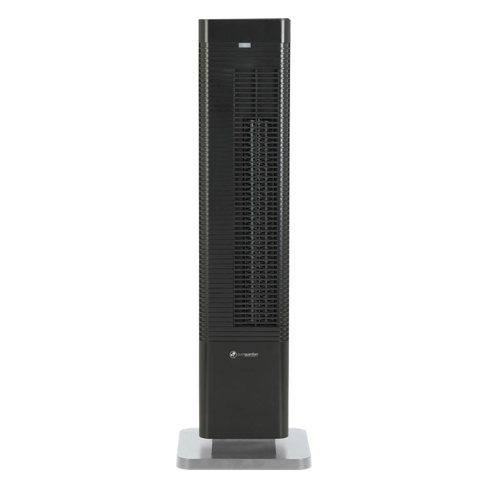 Pure Guardian Oscillating 27 in. Whole Room Tower Heater and Fan with Remote Control