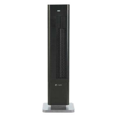 Oscillating 27 in. Whole Room Tower Heater and Fan with Remote Control