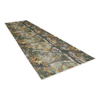 2 ft. 5 in. x 9 ft. Realtree Green Commercial Polyester Garage Flooring