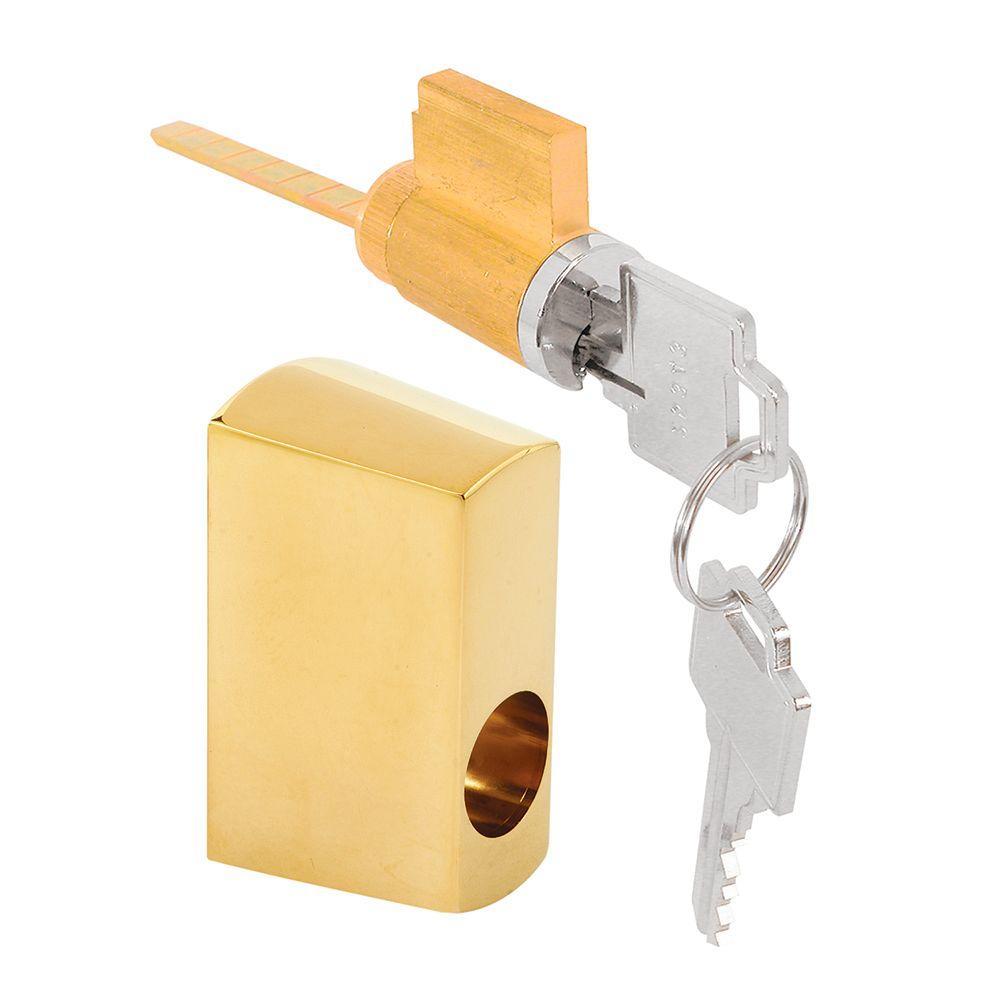 Brass Die Cast Sliding Door Keyed Locking Unit