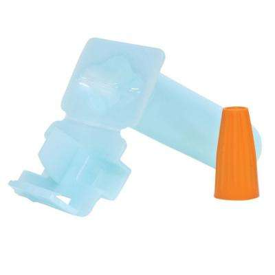 DBO/B-600 Gorilla Nut Wire Connector with Direct Bury Silicone Tube - Orange/Blue (100-Pack)