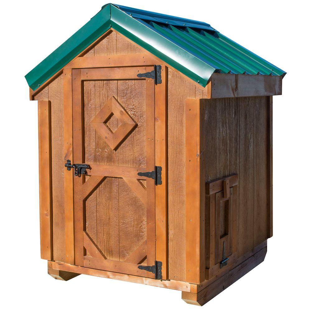null Amish Made Chicken Coop