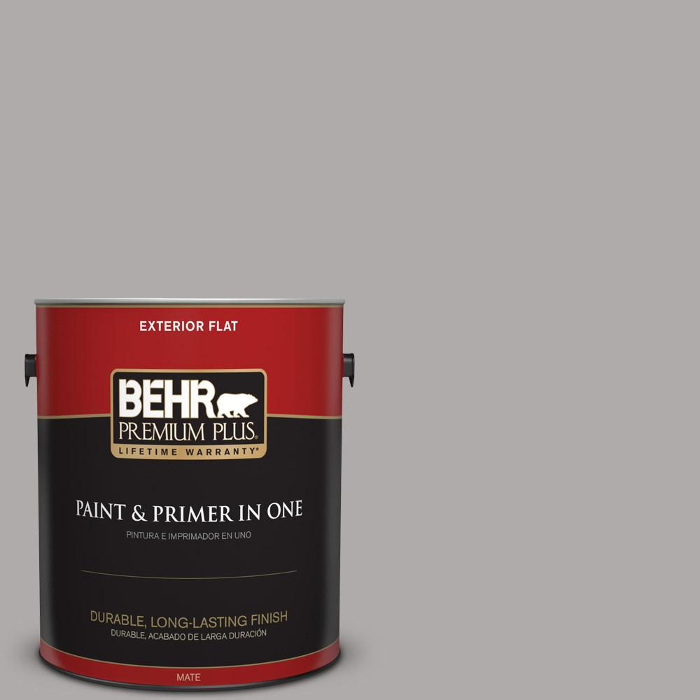 1 gal. #PPU18-14 Cathedral Gray Flat Exterior Paint