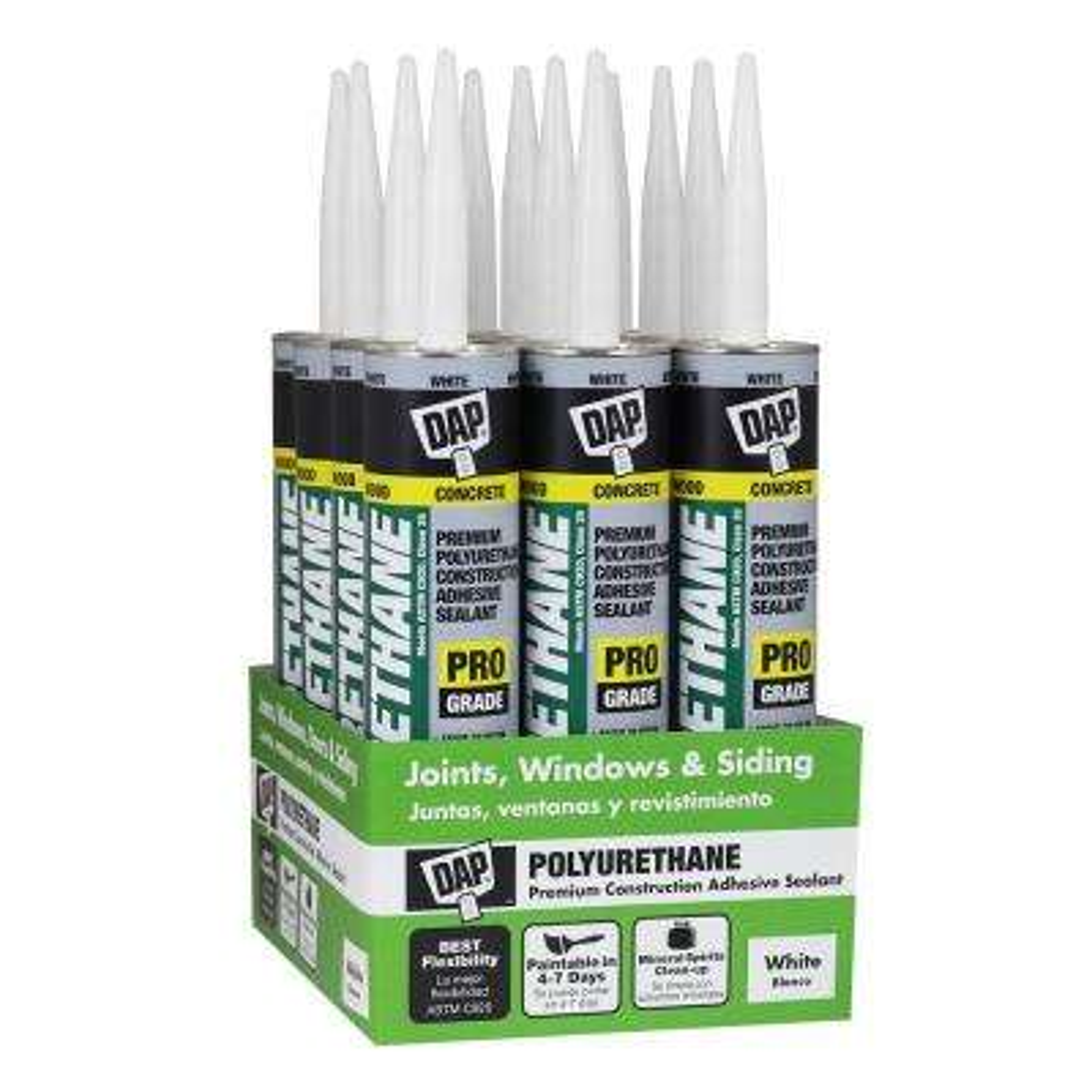 Polyurethane 10.1 oz. White Premium Commercial Grade Sealant (12-Pack)