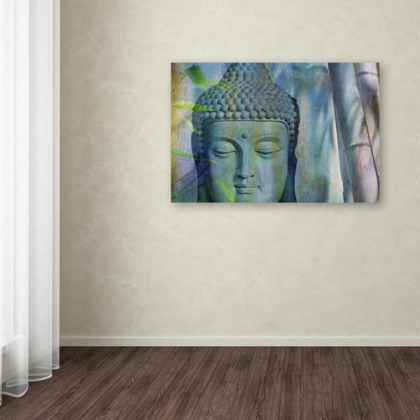 Wondrous 22 In X 32 In Buddha With Bamboo By Cora Niele Printed Canvas Wall Art Home Interior And Landscaping Eliaenasavecom