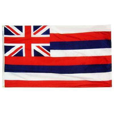 4 ft. x 6 ft. Hawaii State Flag