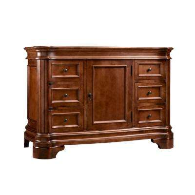 H Vanity Cabinet Only In Colonial
