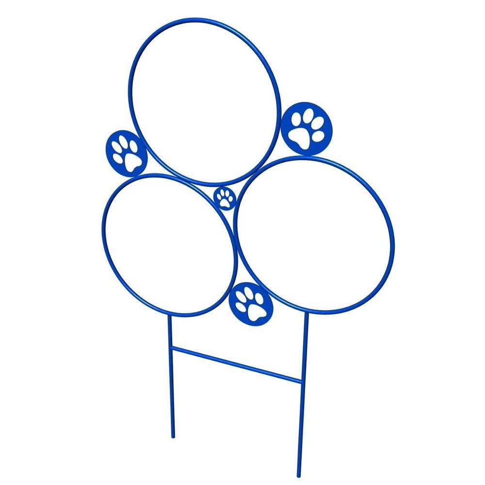 Ultra Play Blue Dog Park Commercial Agility Hoop Jump