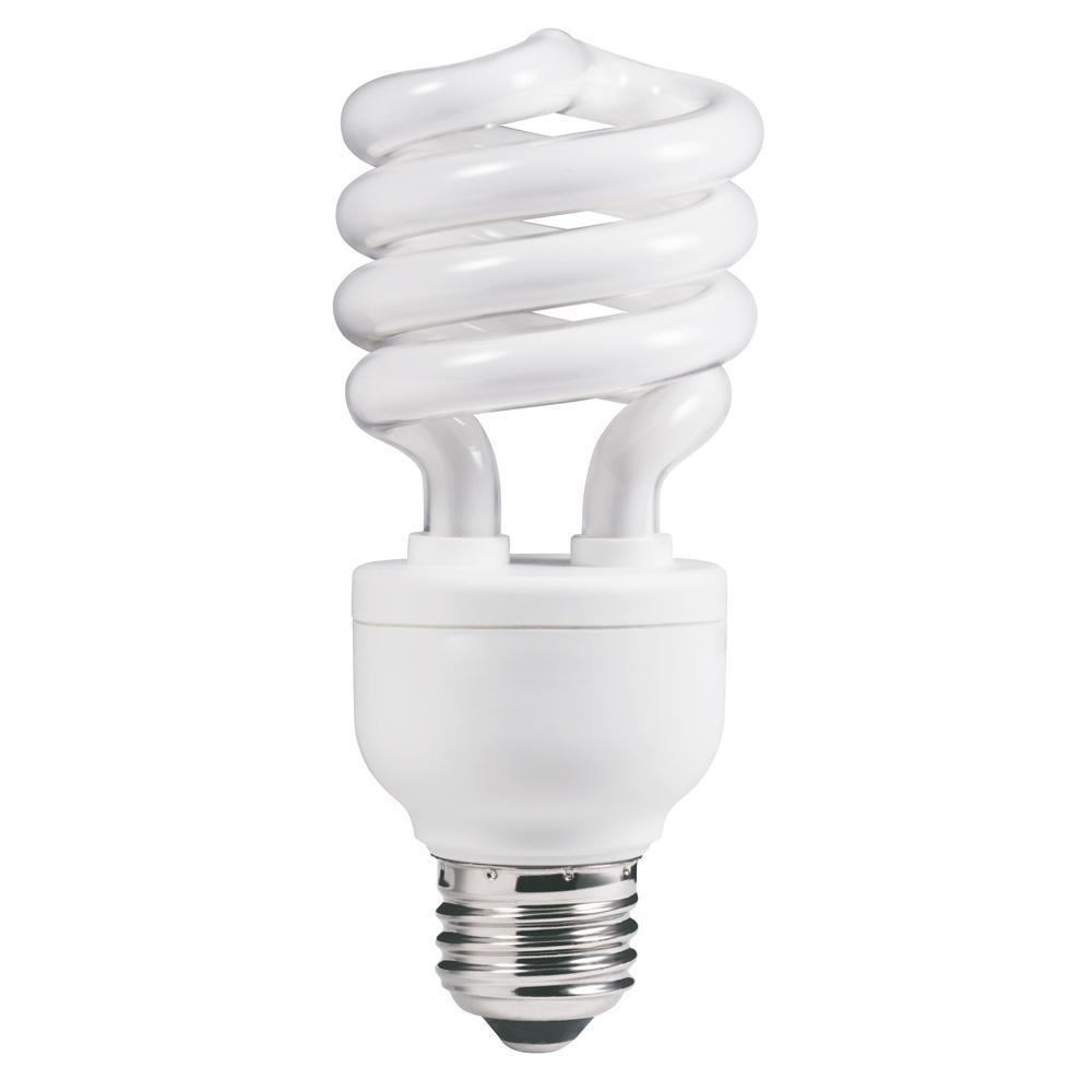100-Watt Equivalent CFL Light Bulb Daylight (5000K) Spiral (6-Pack)