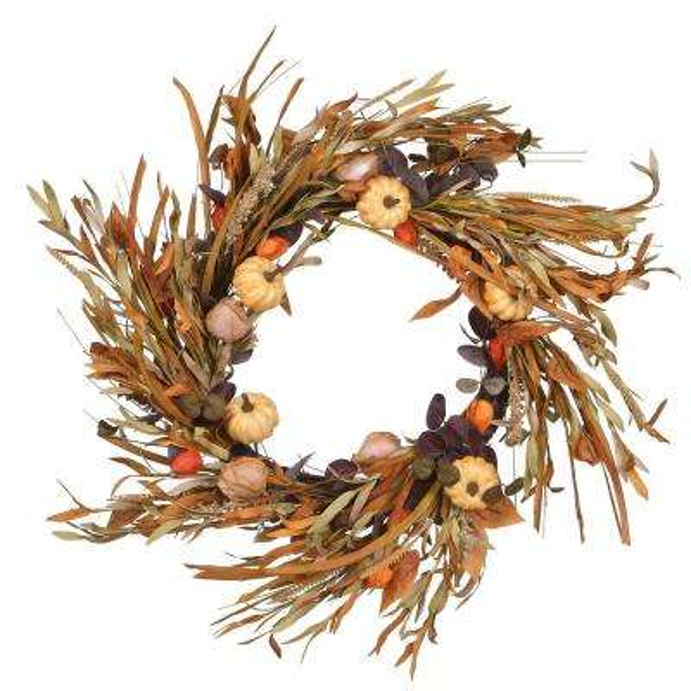 24 in. Harvest Wreath