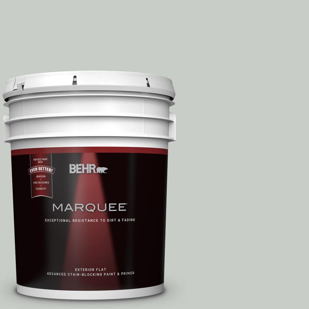 5-gal. #PWL-89 Silver Setting Flat Exterior Paint
