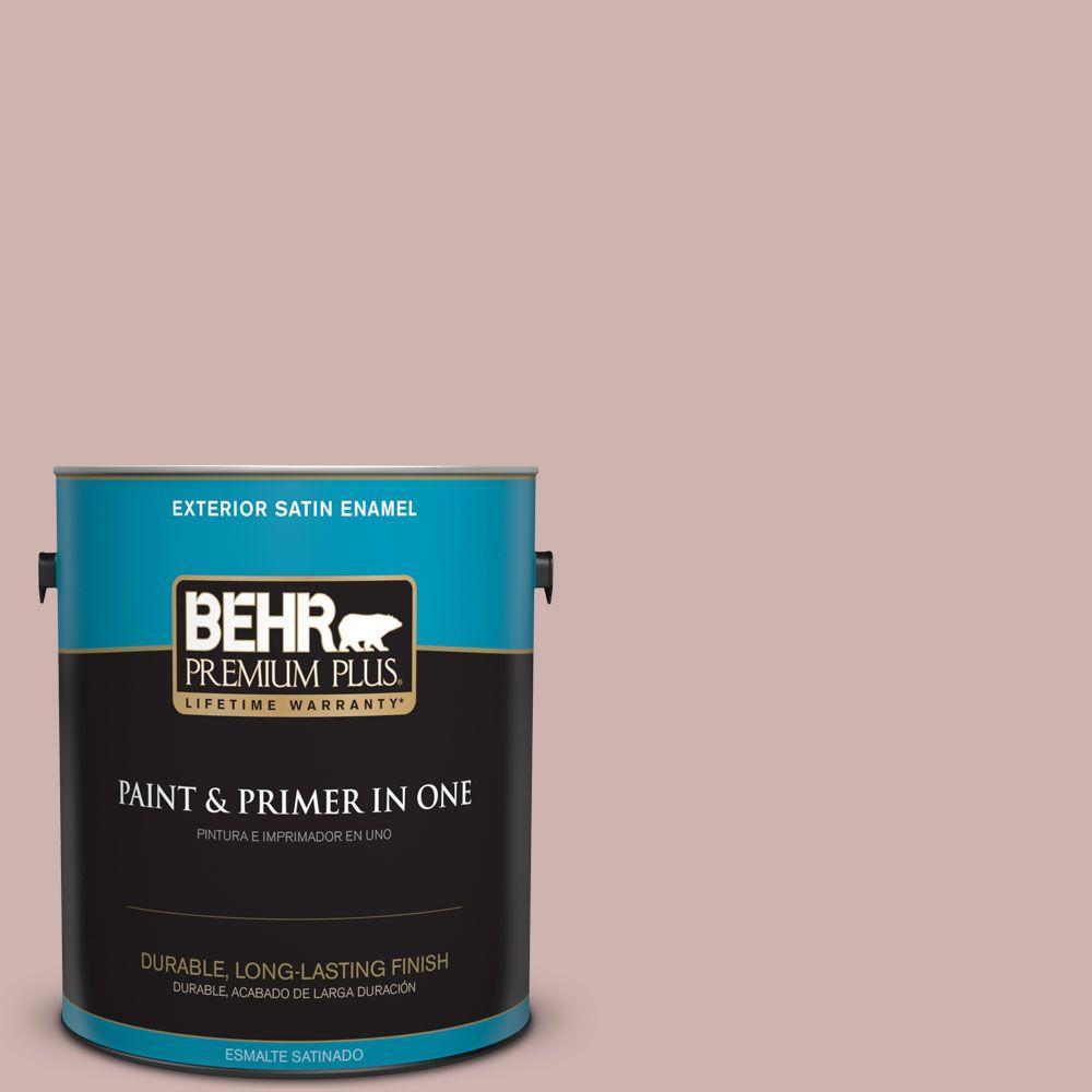 BEHR Premium Plus 1-gal. #180E-3 Plymouth Notch Satin Enamel Exterior Paint