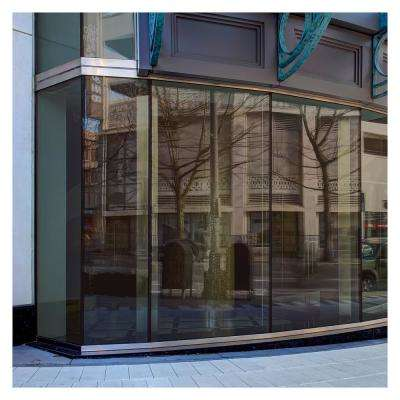 48 in. x 50 ft. PRBR Premium Color High Heat Control and Daytime Privacy Bronze Window Film