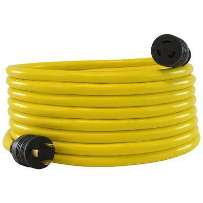 25 ft. STW 12/3 L5-20 20 Amp 125-Volt Generator Power Extension Cord