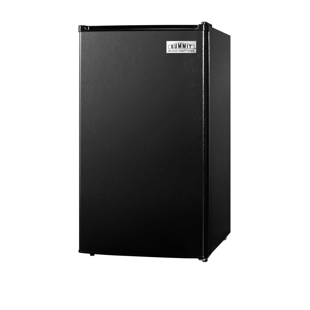 Summit Appliance 3.6 cu. ft. Mini Refrigerator in Black