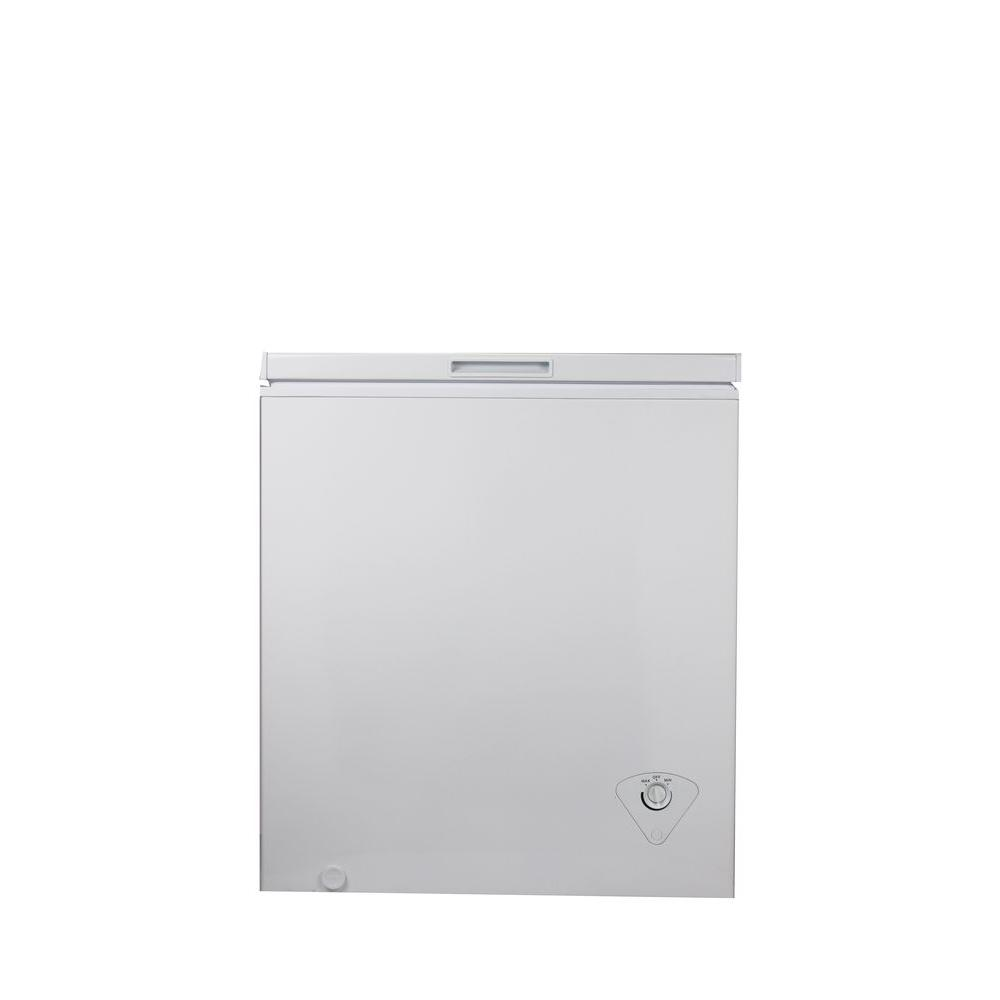 EquatorMedia 5 cu ft Chest Freezer in WhiteCF 18550 The Home