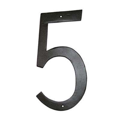 6 in. Standard House Number 5