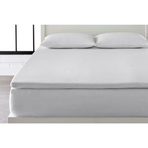 2 in. Gel Infused Memory Foam Twin Mattress Topper