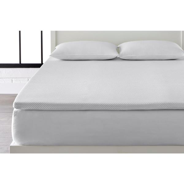 StyleWell 2 in. Gel Infused Memory Foam Twin XL Mattress Topper