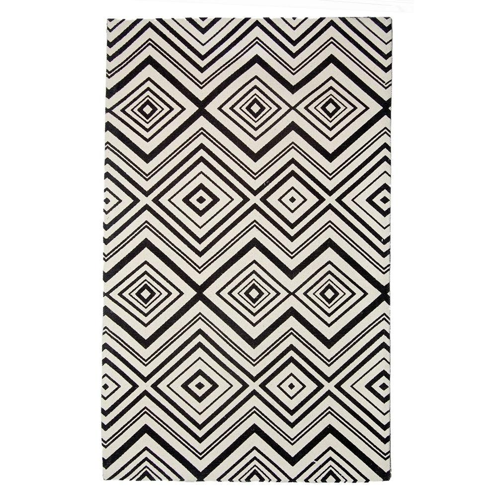 Safavieh Cedar Brook Ivory/Brown 2 ft. 3 in. x 3 ft. 9 in. Area Rug