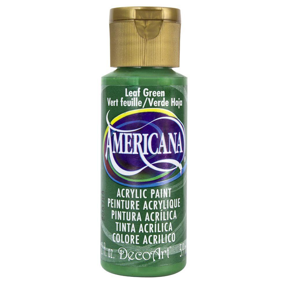 Americana 2 oz. Leaf Green Acrylic Paint