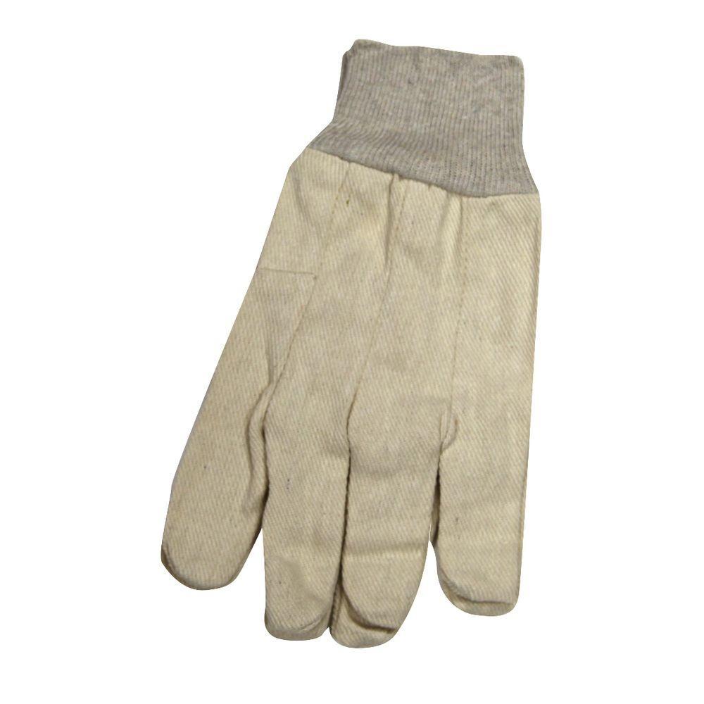 SuperTuff Natural Color Canvas Gloves