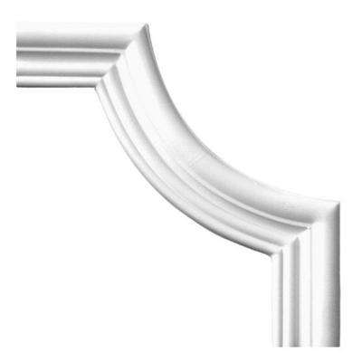 1 in. x 7-3/4 in. x 7-3/4 in. Plain Polyurethane Panel Moulding
