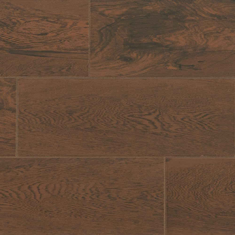 Glenwood Cherry 7 in. x 20 in. Ceramic Floor and Wall Tile (10.89 sq ...