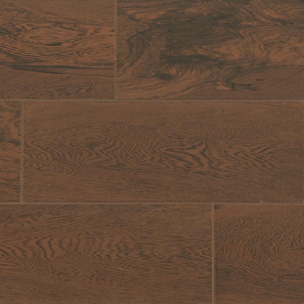 Daltile Glenwood Cherry 7 In X 20 In Ceramic Floor And