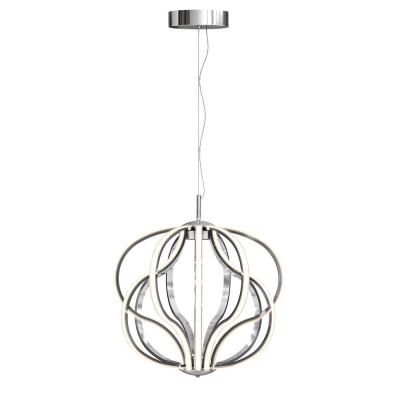 Meridian 30-Watt Integrated LED Chrome Pendant