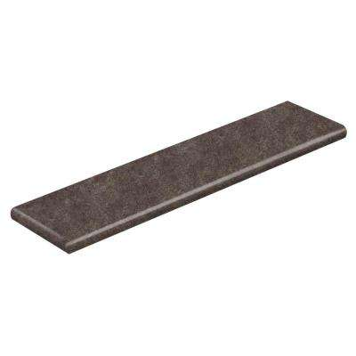 Starry Dark 94 in. Length x 12-1/8 in. Deep x 1-11/16 in. Height Vinyl Overlay Left Return to Cover Stairs 1 in. Thick