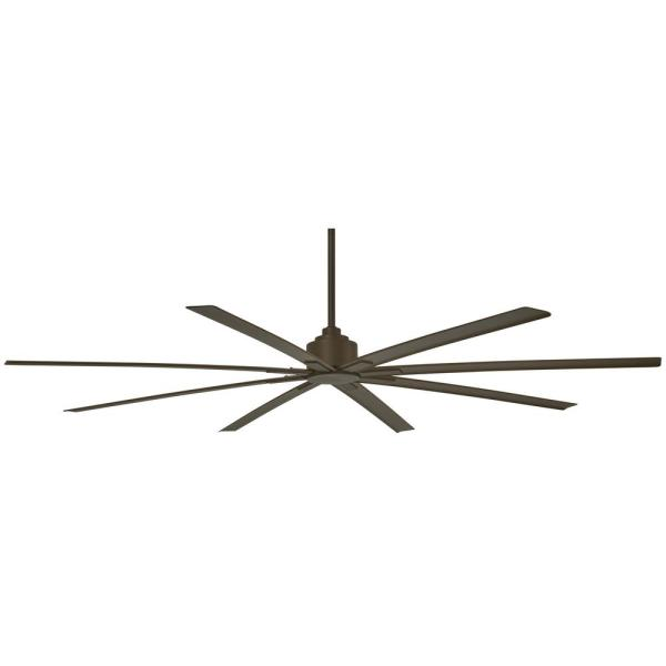 Xtreme H2O 84 in. Indoor/Outdoor Oil Rubbed Bronze Ceiling Fan with Remote Control