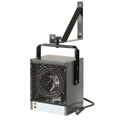 4,000-Watt Garage/Workshop Heater in Grey 240-Volt with Mounting Bracket and Built-In Thermostat