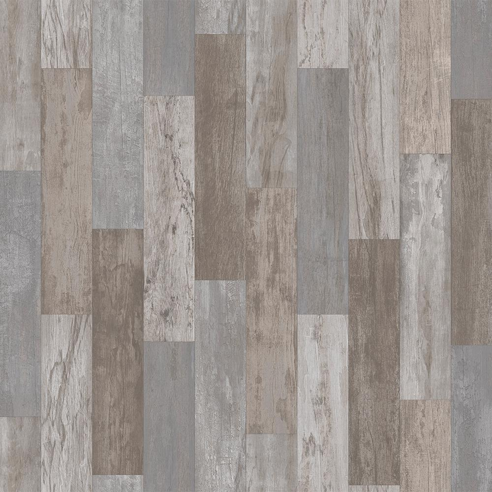 trafficmaster petrified oak plank stone 13 2 ft  wide x your choice length residential vinyl