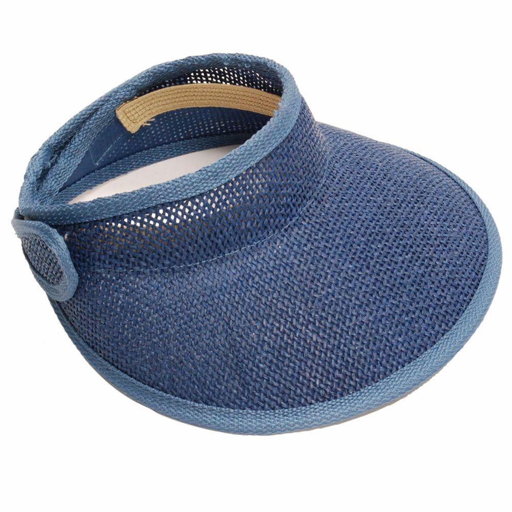 Visor Navy Blue Ladies Hat