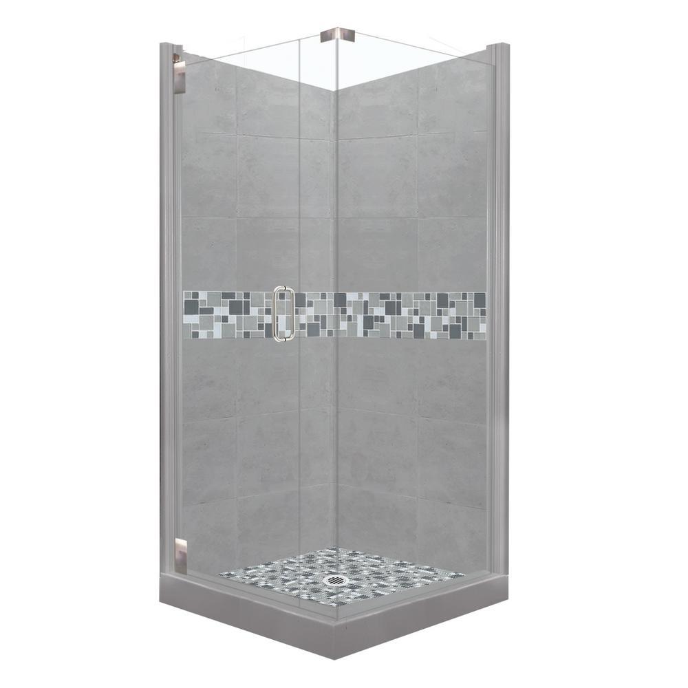 home depot corner shower stalls. newport grand hinged 38 in. x 80 left- home depot corner shower stalls t