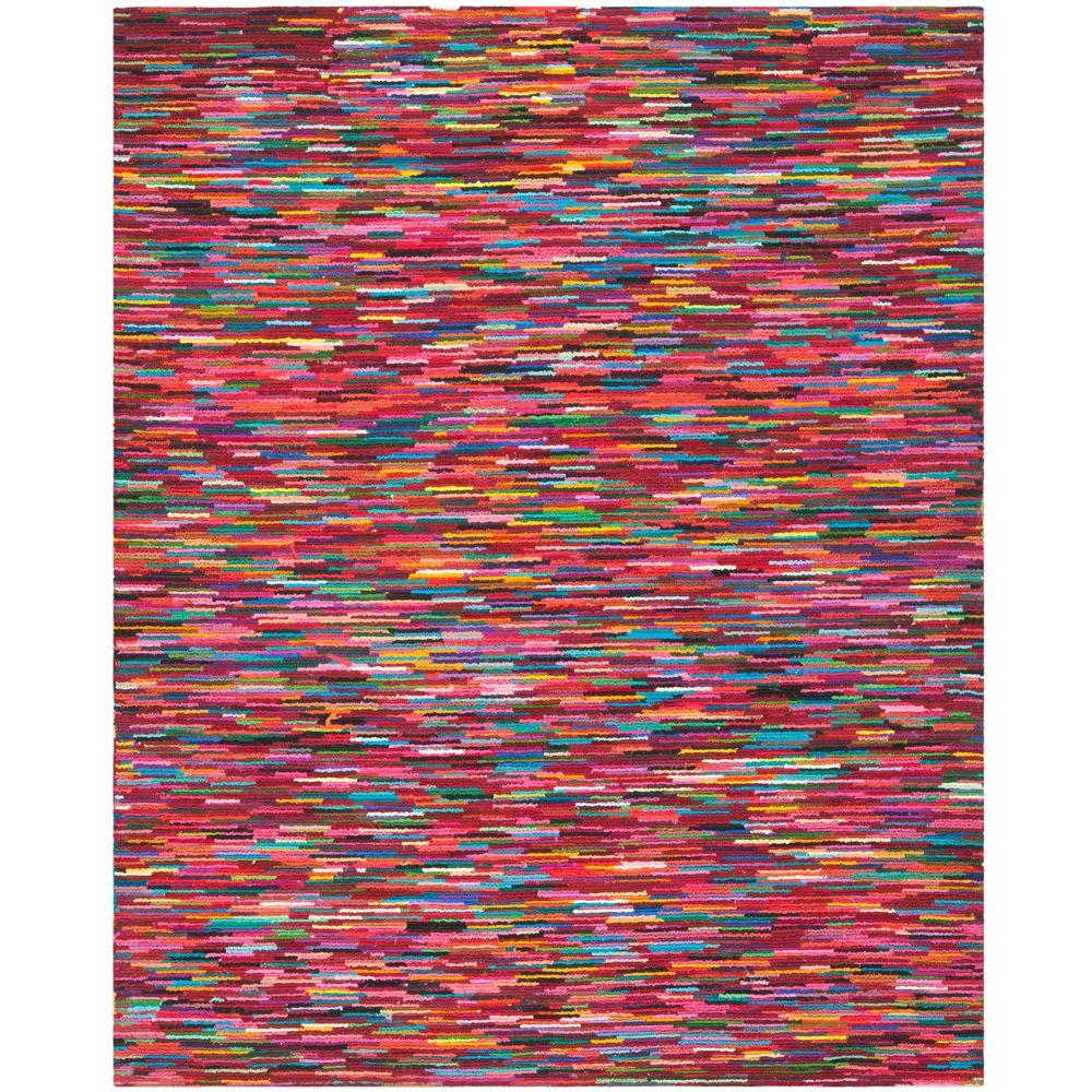 Safavieh Nantucket Pink/Multi 8 ft. x 10 ft. Area Rug
