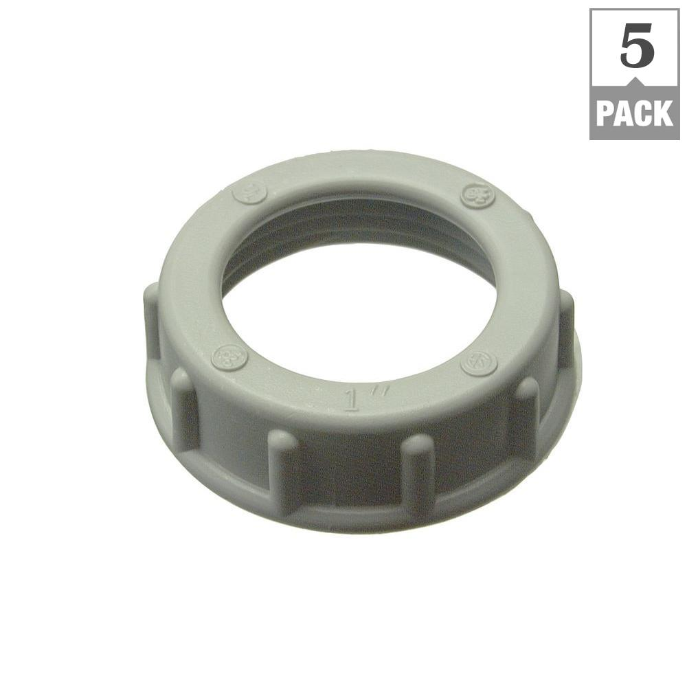 4 in. Thermoplastics Plastic Insulating Bushing (5-Pack)