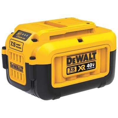 40-Volt MAX 7.5 Ah Lithium-Ion Battery Pack