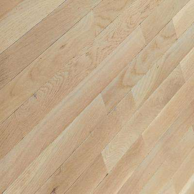 Bayport Oak Winter White 3/4 in. Thick x 2-1/4 in. Wide x Varying Length Solid Hardwood Flooring (20 sq. ft. / case)