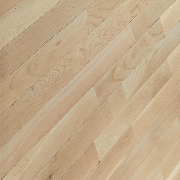 Bayport Oak Winter White 3/4 in. Thick x 3-1/4 in. Wide x Varying Length Solid Hardwood Flooring (22 sq. ft. / case)