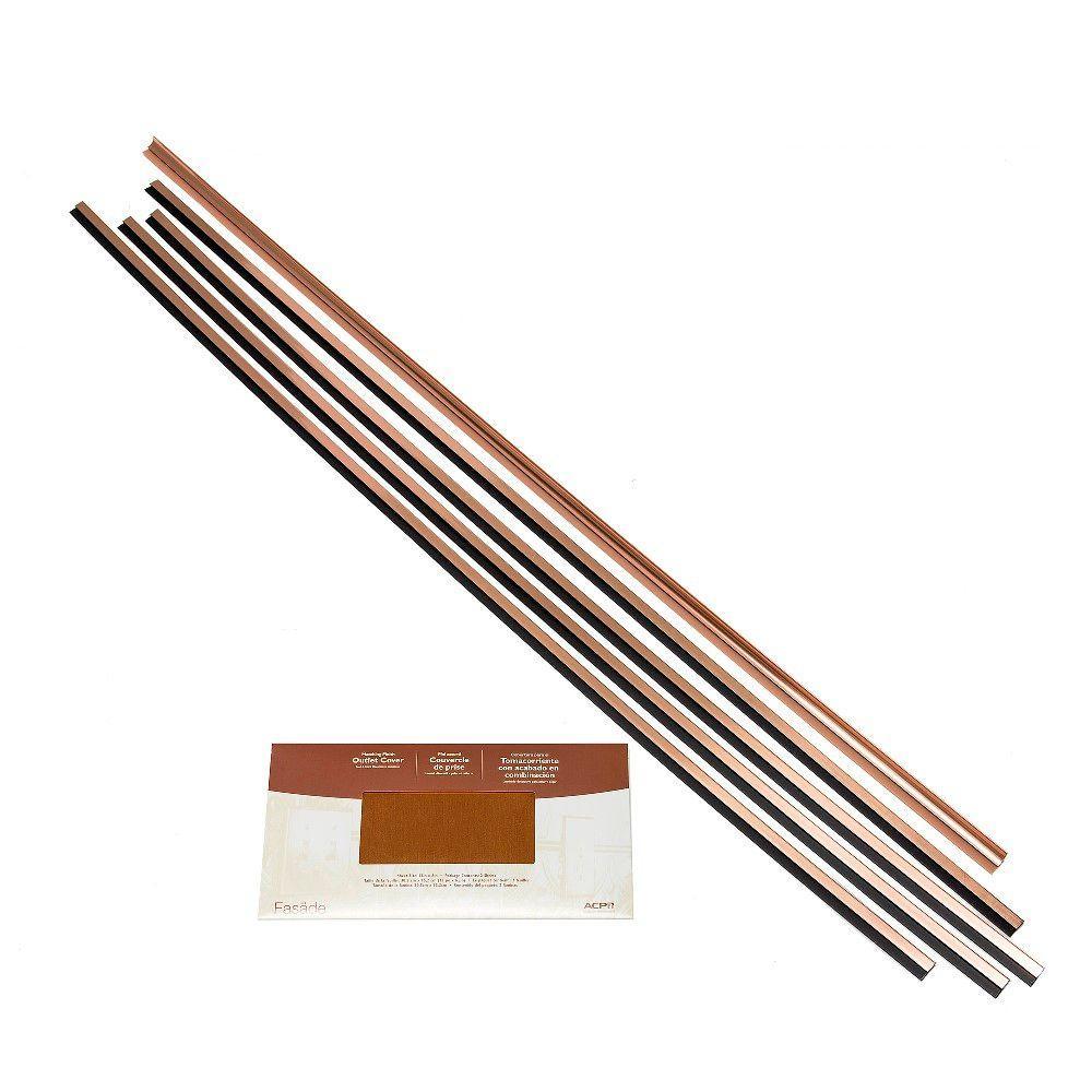 Backsplash Accessory Kit in Polished Copper